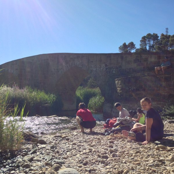 A break by the salt river