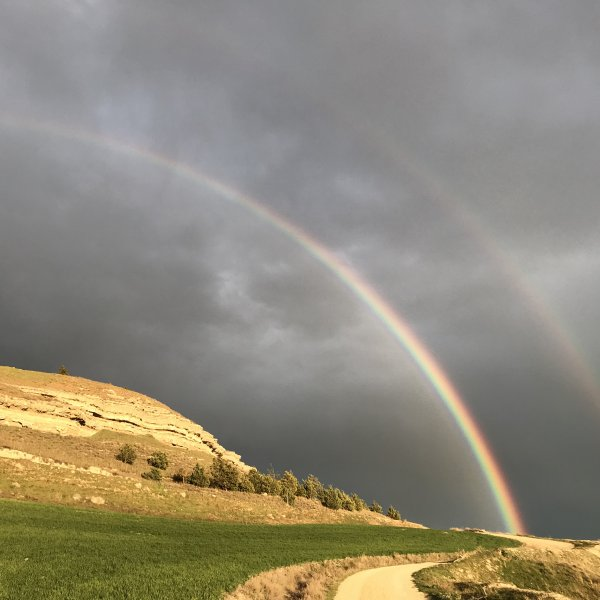 Rainbows -- Castrojeriz
