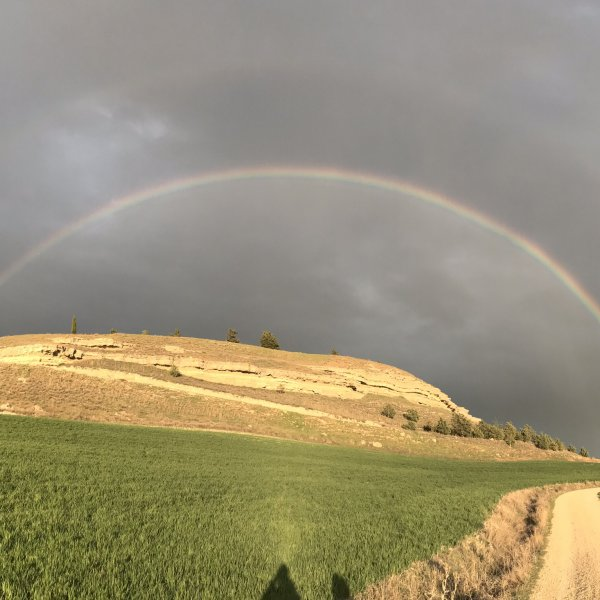 Rainbows on the Meseta