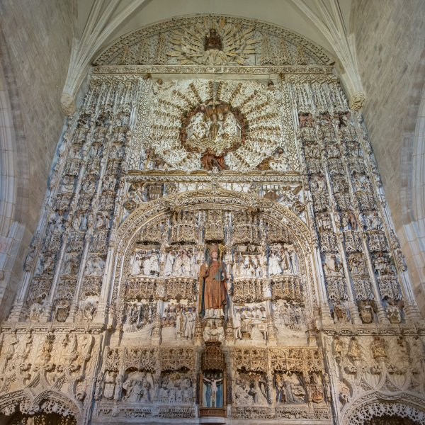 The Fantastic Limestone Altarpiece